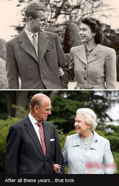 Queen Elizabeth II and Prince Phillip