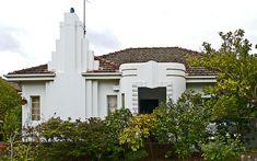 #ArtDeco   House in Melbourne, Victoria, Australia