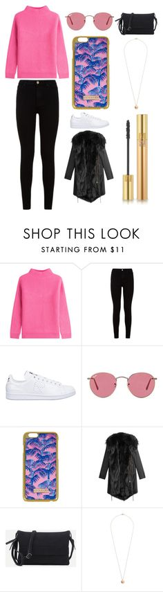 """""""Sans titre #2014"""" by merveille67120 ❤ liked on Polyvore featuring Diane Von Furstenberg, 7 For All Mankind, adidas, Ray-Ban, Skinnydip, Barbed, Dorothy Perkins and Yves Saint Laurent"""