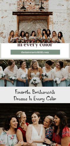 Bridal Party    Bridesmaids    Spring Wedding #BridesmaidDressesSpring #BridesmaidDressesMuslim #GreenBridesmaidDresses #BridesmaidDressesSummer #BridesmaidDressesWithSleeves