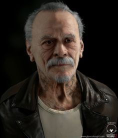 A realtime portrait by Glauco Longhi   Figurative   2D   CGSociety