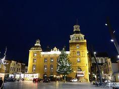 Goes Winterstad, stadhuis op de markt van Goes