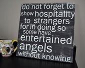 entertain angels