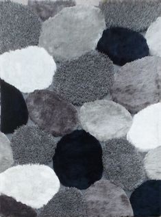 This gray area rug feet has a cotton backing, and a 1 inch pile high thickness. This sublime faux silk area rug is a superb hand-tufted blend of navy, gray, white and silver. Questions, call our rug expert at Navy Blue Area Rug, White Area Rug, Beige Area Rugs, Navy Rug, Contemporary Area Rugs, Colorful Rugs, 5 D, Gray, Transitional Style