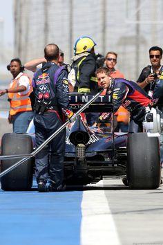 Sebastian Vettel @ Bahrain 2014