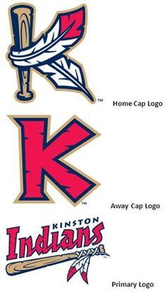 Kinston Indians New Logos 2010