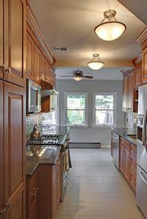 Basic Kitchen Layout, The Galley Kitchen   Kitchen Remodel ...