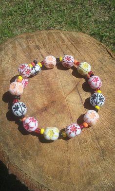 Hey, I found this really awesome Etsy listing at https://www.etsy.com/listing/518478994/boho-hippy-bracelet-plastic-beads-8-inch