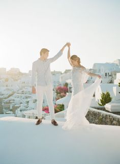 The Magic of Santorini - KT Merry Photography