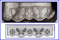 12 Beste Afbeeldingen Van Filet Haken Crochet Curtains Crochet