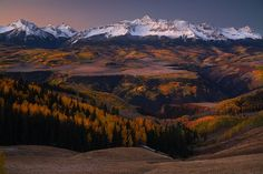 Where My Heart Is - Wilson Peak, Part of the San Miguel Range, which is a sub range of the stunning San Juans, is one of the more recognizable fourteeners in Colorado, serving as the backdrop for the town of Telluride