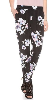 Pretty sure I had almost identical pants in the 90s. AND I LOVED THEM. Joie Talina B Pants