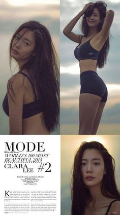 Clara ranks in second place in 'Mode Lifestyle Magazine's list of the most beautiful women in the world   http://www.allkpop.com/article/2014/10/clara-ranks-in-second-place-in-mode-lifestyle-magazines-list-of-the-most-beautiful-women-in-the-world