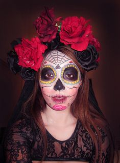 Day of the Dead Makeup-tutorial