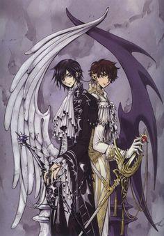 Artwork for Code Geass: Lelouch Rebellion  no vi la serie ni se quienes son, pero me gustaron las alas