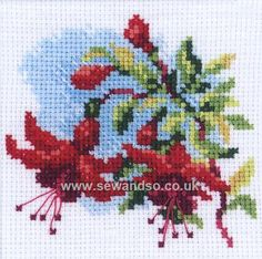 Shop online for Fuchsia Cross Stitch Kit at sewandso.co.uk. Browse our great range of cross stitch and needlecraft products, in stock, with great prices and fast delivery.