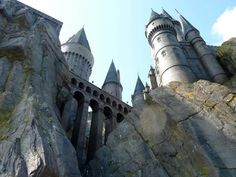 Go to Hogwarts...well if I can't I will settle for the theme park!