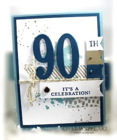 Stampin' Up Large Numbers Framelits, Me, My Stamps and I