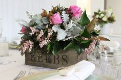 Beautiful Table Decorations From Byron Bay Wedding Flowers