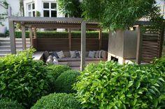 Charlotte rowe garden design the list - house & garden Garden Design London, Back Garden Design, Front Yard Design, Terrace Design, Landscape Structure, Landscape Design, Outdoor Rooms, Outdoor Living, Outdoor Decor