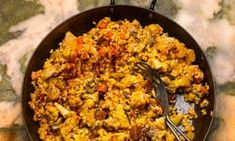 Nieves Barragán Mohacho: the classic Spanish recipe, arroz con pollo and chorizo Chicken Chorizo Recipe, Chorizo Recipes, Fried Chicken Recipes, Rice Recipes, Recipies, Chicken And Spanish Rice, Spanish Food, How To Cook Chorizo, Cooking Chorizo