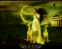 diana the huntress paintings | Diana the Huntress by `AutumnsGoddess on deviantART