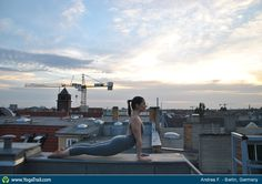 "Yoga Poses Around the World: ""Urban Yoga in Berlin"""