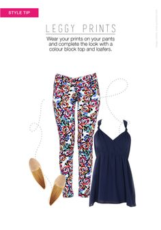 #prints #colourblocking #collegestyles #roadtrip #casuals