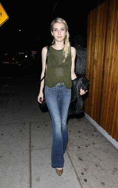 Emma Roberts at The Nice Guy in West Hollywood 6/11/15