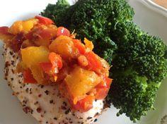 Mango Chutney Chutney, Fruit Salad, Mango, Lunch, Food, Manga, Eat Lunch, Essen, Chutneys