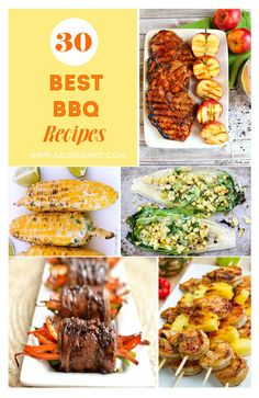 Best BBQ Recipes via A Blissful Nest