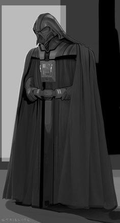 Darth Vader new by strib.deviantart.com on @deviantART