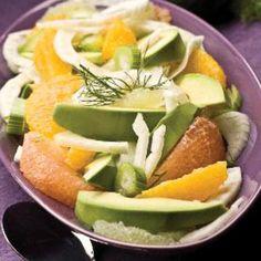 Avocado-Fenchel-Zitrus-Salat Rezept   LECKER