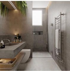 Luxury Bathroom Ideas is enormously important for your home. Whether you pick the Luxury Bathroom Master Baths Dark Wood or Luxury Bathroom Master Baths Log Cabins, you will create the best Bathroom Ideas Master Home Decor for your own life. Bathroom Layout, Modern Bathroom Design, Bathroom Interior Design, Minimal Bathroom, Modern Interior, Minimal Bedroom Design, Modern Design, Tile Layout, Modern Decor