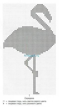 жаккардовое вязание спицами: 26 тыс изображений найдено в Яндекс.Картинках Cross Stitch Pattern Maker, Cross Stitch Patterns, Tapestry Crochet Patterns, Knitting Patterns, Filet Crochet, Knit Crochet, Intarsia Knitting, Crochet Birds, Flamingo Pattern