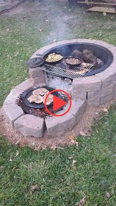 Get ready for months of outdoor entertaining around your own backyard fire pit. Build this easy DIY fire pit your whole family will enjoy for years to come. Outdoor Garden Decor, Diy Garden Decor, Balcony Decoration, Easy Fire Pit, Gazebos, Fire Pit Designs, Fire Pit Backyard, Outdoor Fire, Backyard Landscaping