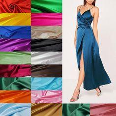 Micro-elastic imitated silk satin fabric dense charmeuse bridal fabric for wedding dress by yard Home Design, Kids Robes, Silk Satin Fabric, Silk Kimono Robe, Bridal Fabric, Bridesmaid Robes, Formal Dresses, Wedding Dresses, Portrait