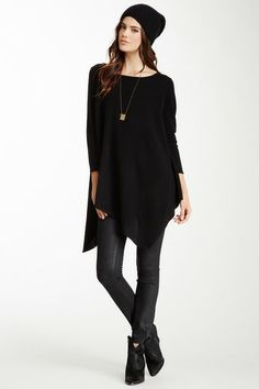 Cashmere Tunic  - love it with skinny jeans