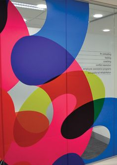 Use of color & graphic shapes to create interest and impact      resolutionsRTK–signage, wayfinding + environmental graphics - crampton d+a