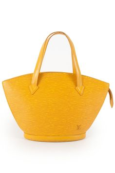 Louis Vuitton St-Jacques.....LOVE yellow :)  So happy and sunny....