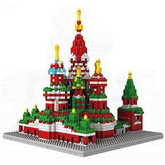 LOZ Diamond Blocks World Famous Architecture Series - St. Basil's Cathedral