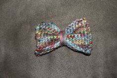 Affordable Wonders: Easy Knit Hairbow Pattern