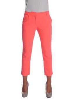 Supertrash  Diva pink - Full lentgh straight fit pants