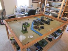Warhammer 40K Fantasy RPG D D Custom War Game Terrain Table 4x6 | eBay