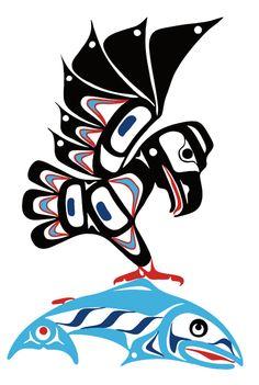 Eagle & Salmon | Eric Parnell