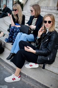 Paris Fashion Week Street Style [Photo by Kuba Dabrowski] | @andwhatelse