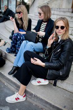 Paris Fashion Week Street Style [Photo by Kuba Dabrowski] | @andwhatelse