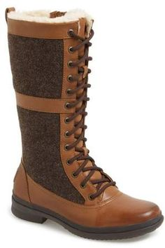 UGG(R) Elvia Waterproof Tall Boot   Cute Boots   Shoes   Style   Fashion   Outdoorsy #Sponsored