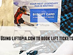 We used liftopia.com to book lift tickets this holiday season.  What's it all about?  |  The City Rental Blog