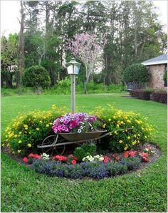 Ein Schönes Blumenbeet Im Garten, Das Möchte Natürlich Jeder. Aber Oft  Sieht Man So Große Blumenbeete, Die Nie In Einen Kleineren Garten Passen.